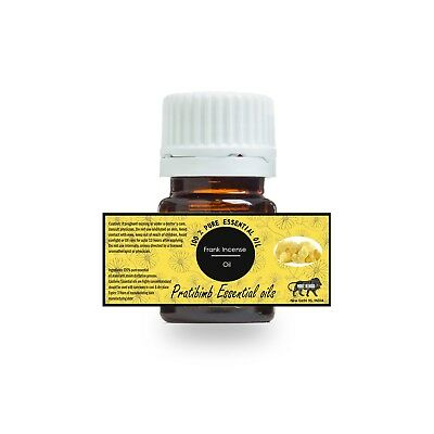 100% Pure Natural Frank Incense Essential Oil 3 Ml To 100 Ml From India