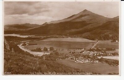 KINLOCH RANNOCH Village and Tummel Valley RP by J B White #A2050 Used 1949