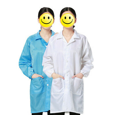 Work Clothes Antistatic Clean Anti-Static Dust-proof Labour Protection X7I5