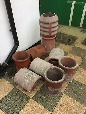 Old Vintage Reclaimed Chimney Pots