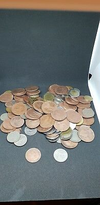 Job Lot Of  Very Old Coins Just Over 1kg