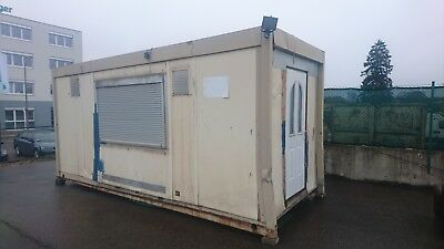 Bürocontainer, Lagercontainer, Container