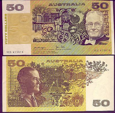 $50   NOTE - PAPER  in  CRISP UNC   CONDITION - GOING CHEAPLY!!