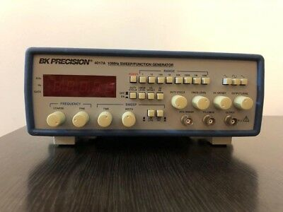 BK Precision Model 4017A 10MHz Sweep/Function Generator