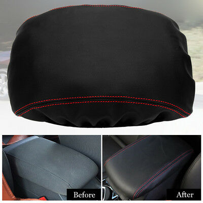 Leather Cover Pro For Toyota Highlander 2008-2013 Center Console Lid Armrest New