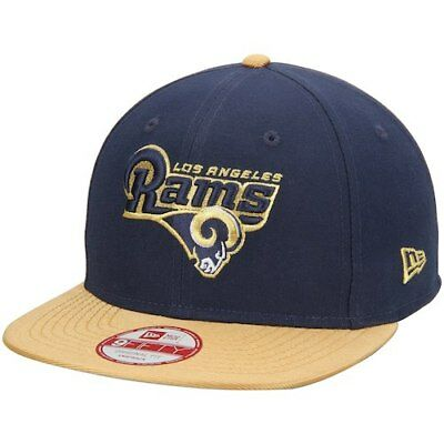 best service cd9ec beebf ... where to buy new era los angeles rams navy gold original fit 9fifty  snapback adjustable hat