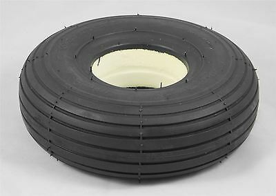 1 of Solid Rib Tread 300x4 3.00-4 (260x85) Black Mobility Scooter Tyre