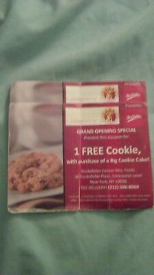 2 Liberty Deli 1 Mrs. Field Cookie (Rockefeller Center NYC) Coupons No Expire