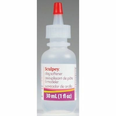 Sculpey Liquid Clay Softener & Adhesive Glue for Fimo & Sculpey polymer clay