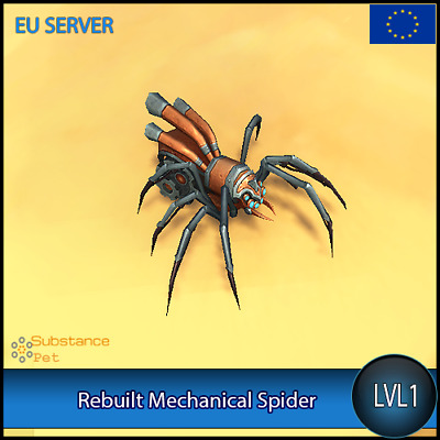 Rebuilt Mechanical Spider lvl1 Pet BFA | All Europe Server | WoW Warcraft Loot
