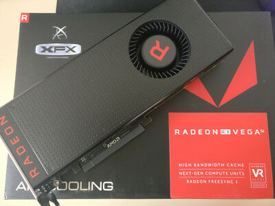 XFX - AMD Radeon RX Vega 56 8GB (UPGRADED Vega 64 BIOS)