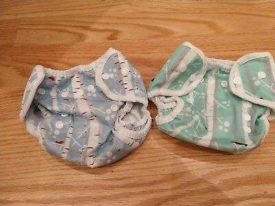 Two (2) Diaper Thirsties Covers,Size One