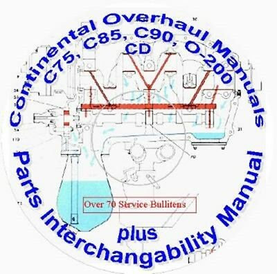 CONTINENTAL C Series and O200 Manuals