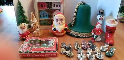Vintage Lot Of 21 Asst. Christmas Items