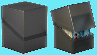 ULTIMATE GUARD BOULDER Onyx Standard Size DECK CASE 100+ NEW Card Storage Box