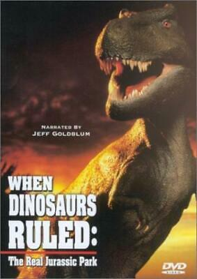 When Dinosaurs Ruled: The Real Jurassic DVD
