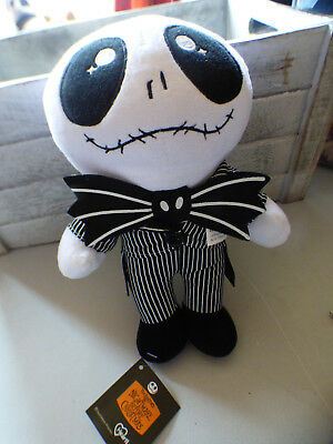 Jack Skellington, Nightmare Before Christmas plushy toy, 26cm, Tim Burton NEW!