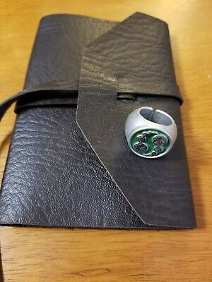 """Doctor Who """"Journal of Impossible Things"""" w/Master's ring"""