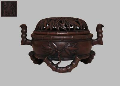 Very Rare Chinese Copper Incense Burner With Da Qing Mark (L833)