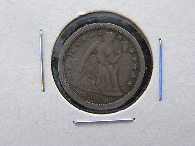 1856 Seated Liberty Silver Dime full liberty, VF