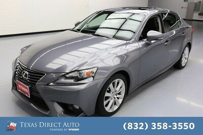 2014 Lexus IS  Texas Direct Auto 2014 Used 2.5L V6 24V Automatic RWD Sedan Premium