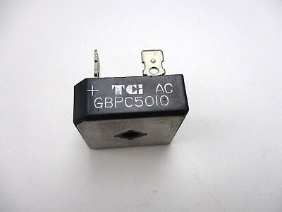 Bridge Rectifier, GBPC5010 1000PRV 50 Amp (NOS,New Old Stock)(QTY 1 ea)N6