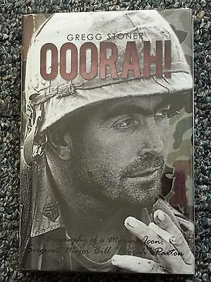 Ooorah!: Biography of a Marine Icon by Sergeant Major Bill Ooorah Paxton SIGNED