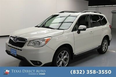 2016 Subaru Forester 2.5i Touring Texas Direct Auto 2016 2.5i Touring Used 2.5L H4 16V Automatic AWD SUV Moonroof
