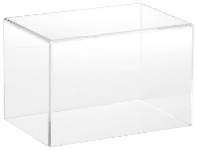 """Plymor Brand Clear Acrylic Display Case with No Base, 6"""" W x 4"""" D x 4"""" H"""