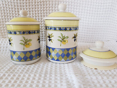 Royal Doulton Carmina Storage Jars