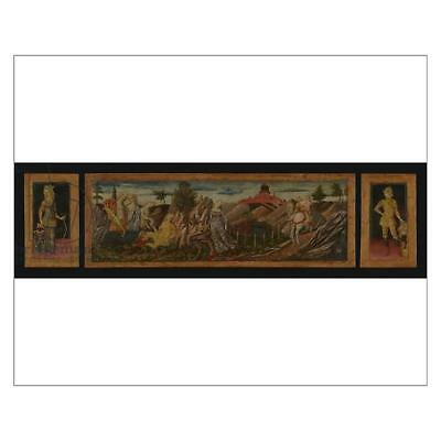 """18257589 10""""x8"""" (25x20cm) Print The Story of Oenone and Paris, 14..."""