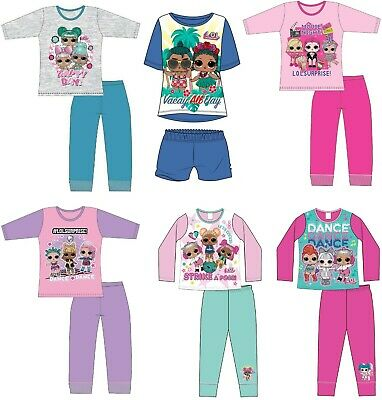 Girls LOL Surprise Dolls Pyjamas Nightdress Nightie Pjs Age 4-10 Years