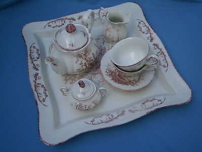 **  traumhaftes Teeservice f. 2 Personen, Tee-for-two, Royal English Country  **
