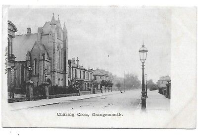 GRANGEMOUTH Postcard Stirlingshire Charing Cross Early