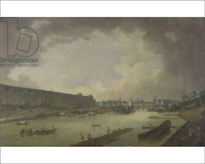 """18252907 10""""x8"""" (25x20cm) Print View of the Pont Neuf and the Gal..."""
