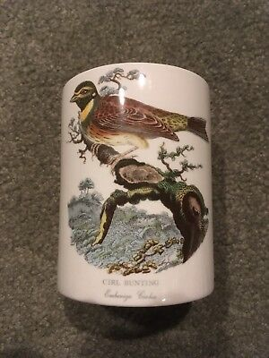 Birds of Britain Portmeirion canister Cirl Bunting