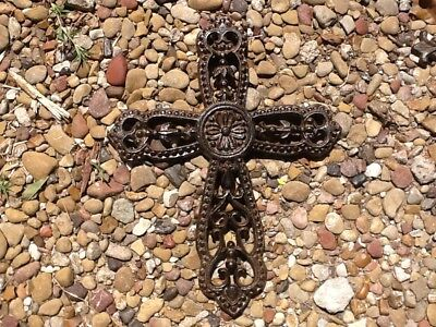 6 Wall Cross Cast Iron FREE SHIPPING Home Decor
