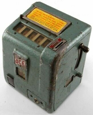 Ace 1cent Trade Stimulator Machine Working with Gumball Vendor coin operated