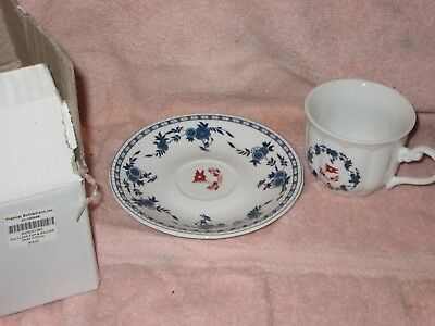 Titanic Authentic Reproduction 2nd Class White Star Line CUP & SAUCER w/ Box