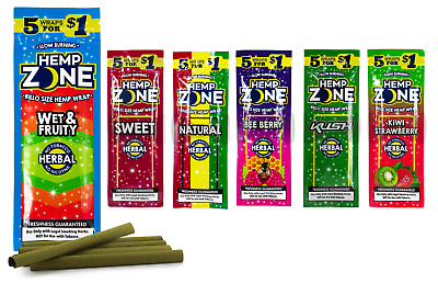 Zone Rillo Wraps - 5 PACKS - 6+ Flavors Variety U Pick N Choose Mix Match