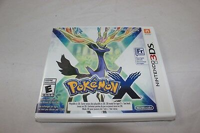 Pokemon X (Nintendo 3DS, 2013) Brand New Factory Sealed