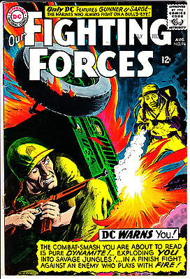 DC Comics OUR FIGHTING FORCES 1965 #94 GD/VG detailed pics