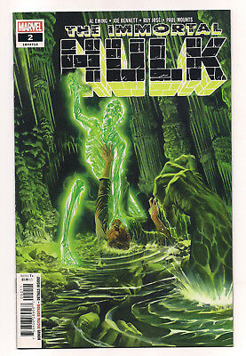 The Immortal Hulk #2 Vf/nm 1St Appearance Of Dr. Frye Marvel Comics Hard To Find