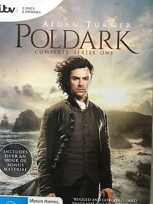 POLDARK (2015) - Season 1 3 x DVD Set AS NEW! Complete First Series One