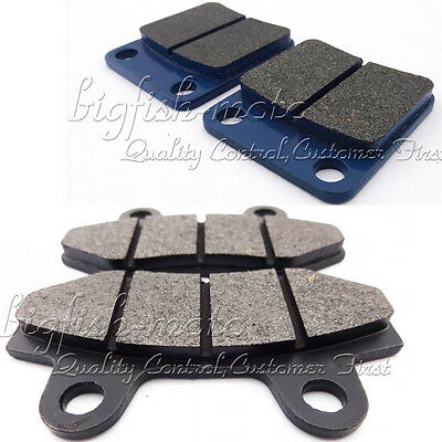 Front Rear Brake Pads For 50 125 140 150 160 cc Pit Dirt Bike SSR Thumpstar CRF