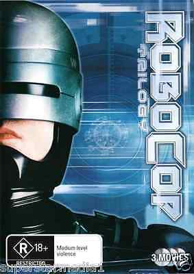 Robocop Trilogy 1+2+3 : NEW DVD