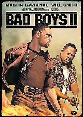 BAD BOYS II  Special Edition 2-Disc DVD BRAND NEW FREE FAST SHIPPING RATED R