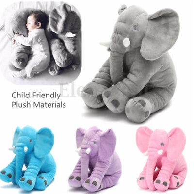 Long Nose Elephant Baby Pillow Stuffed Doll Children Cushion Plush Toys Gifts