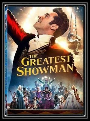 The Greatest Showman DVD, 2018 BRAND NEW - FREE SHIPPING w/Tracking