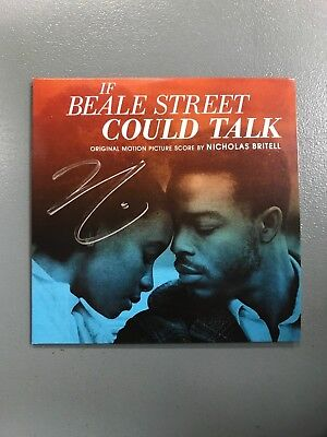 SIGNED If Beale Street Could Talk Best Original Score CD FOR YOUR CONSIDERATION